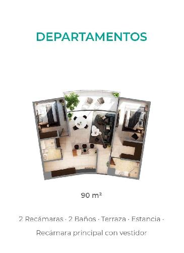 Departamento Venta en Humboldt, Cuernavaca Morelos