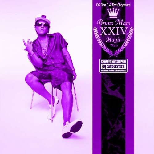Bruno Mars - 24K Purple Magic (Chopped Not Slopped)