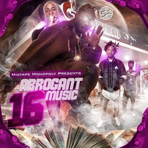 Arrogant Music 16 - DJ S.R., Mixtape Monopoly
