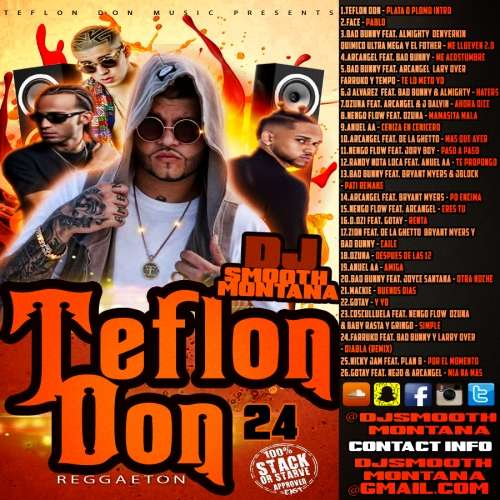 Various Artists - Teflon Don Reggaeton 24