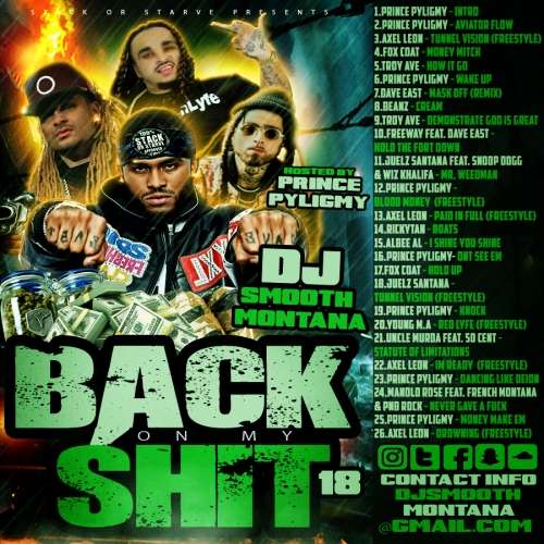 Various Artists - Back On My Shit 18 (Hosted By Prince Pyligmy)