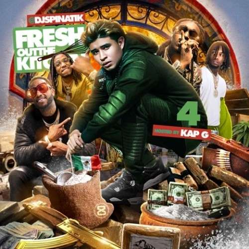 Various Artists - Fresh Out The Kitchen 4 (Hosted By Kap G)