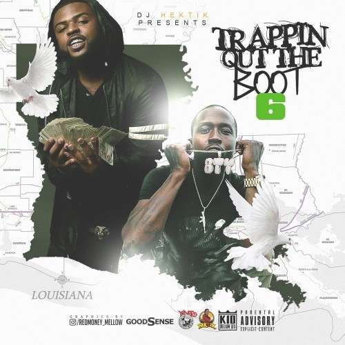 Various Artists - Trappin Out The Boot 6