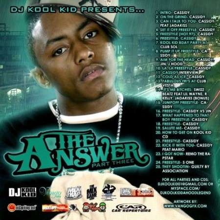 Cassidy - The Answer, Part 3