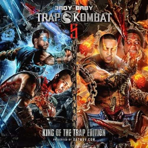 Various Artists - Trap Kombat 5 (Gucci Mane Vs. T.I.)