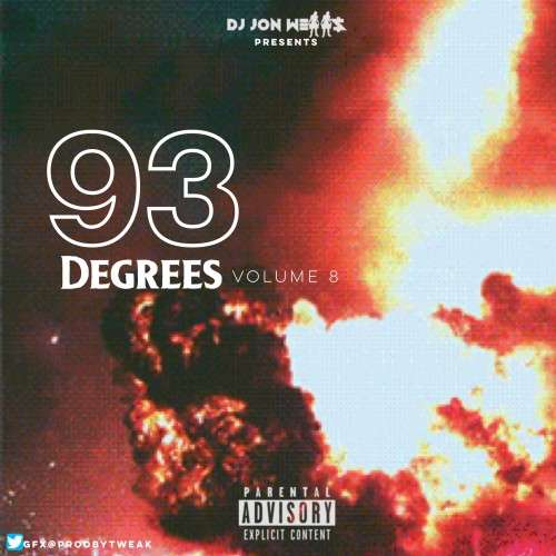 Various Artists - 93 Degrees, Vol. 8