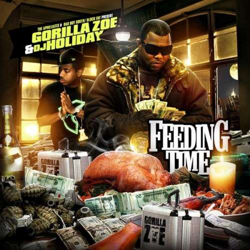Gorilla Zoe - Feeding Time