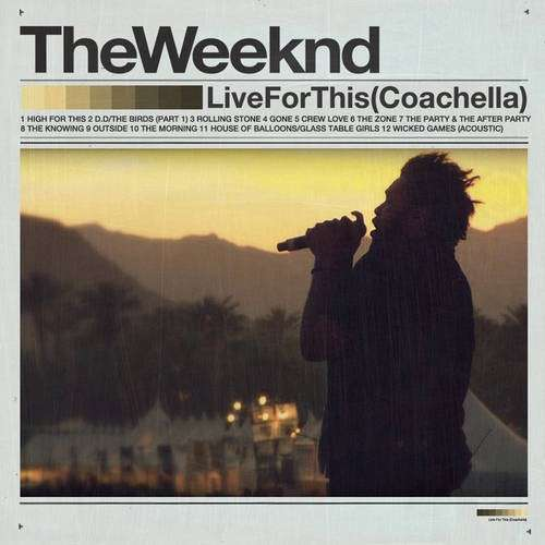 The Weeknd - Live For This (Coachella 2012)