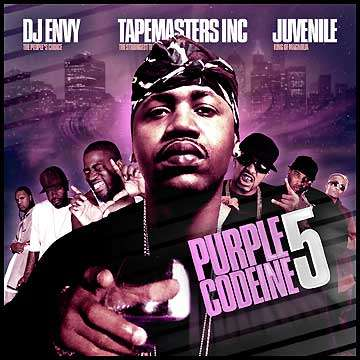 Various Artists - Purple Codeine 5 (Hosted By Juvenile)