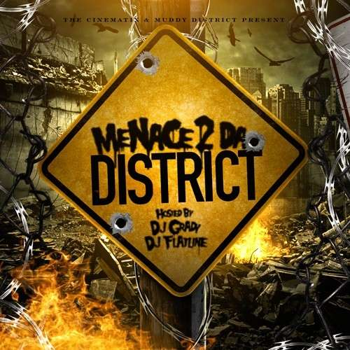 Various Artists - Menace 2 Da District