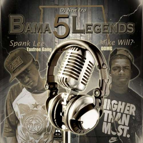 Various Artists - Bama Legends 5 (Hosted By Spank Lee & Mike Will)