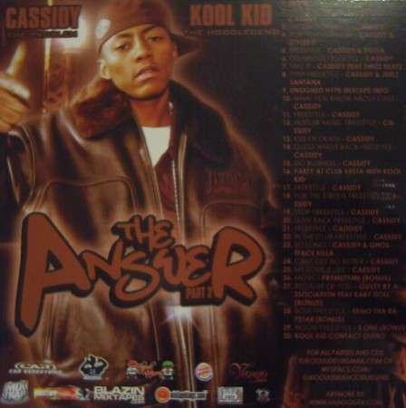 Cassidy - The Answer Pt. 2
