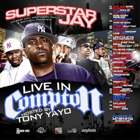 Various Artists - Live In Compton (Hosted By Tony Yayo)