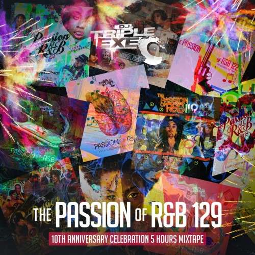 Various Artists - The Passion Of R&B 129