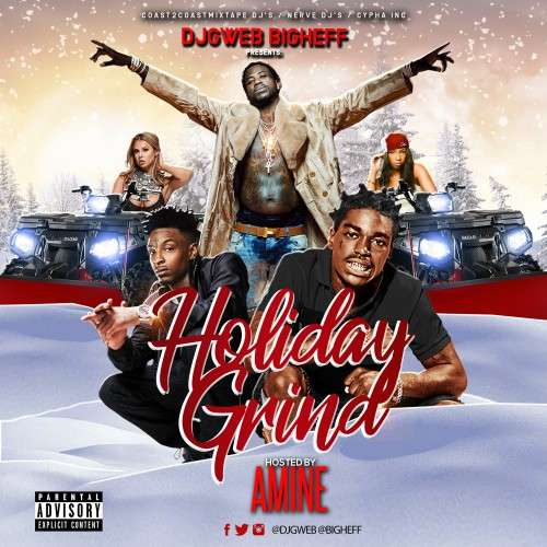 Various Artists - Holiday Grind (Hosted By Amine)