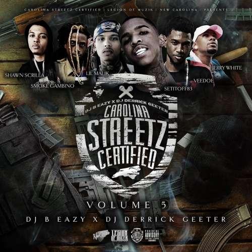 Various Artists - Carolina Streetz Certified Vol 5