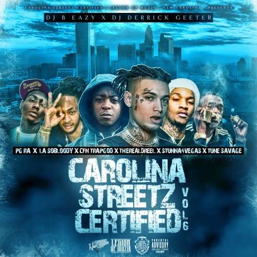 Various Artists - Carolina Streetz Certified 6