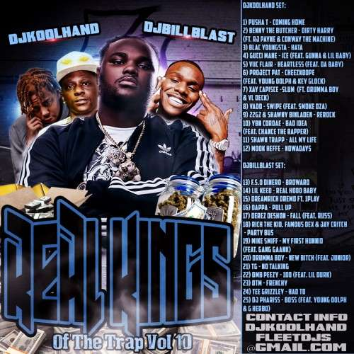 Various Artists - Real Kings Of The Trap 10