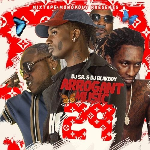 Arrogant Music 29 - DJ S.R., DJ Blakboy, Mixtape Monopoly