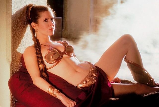 ¡Aparecieron fotos hot de la Princesa Leia, posta! (+18)
